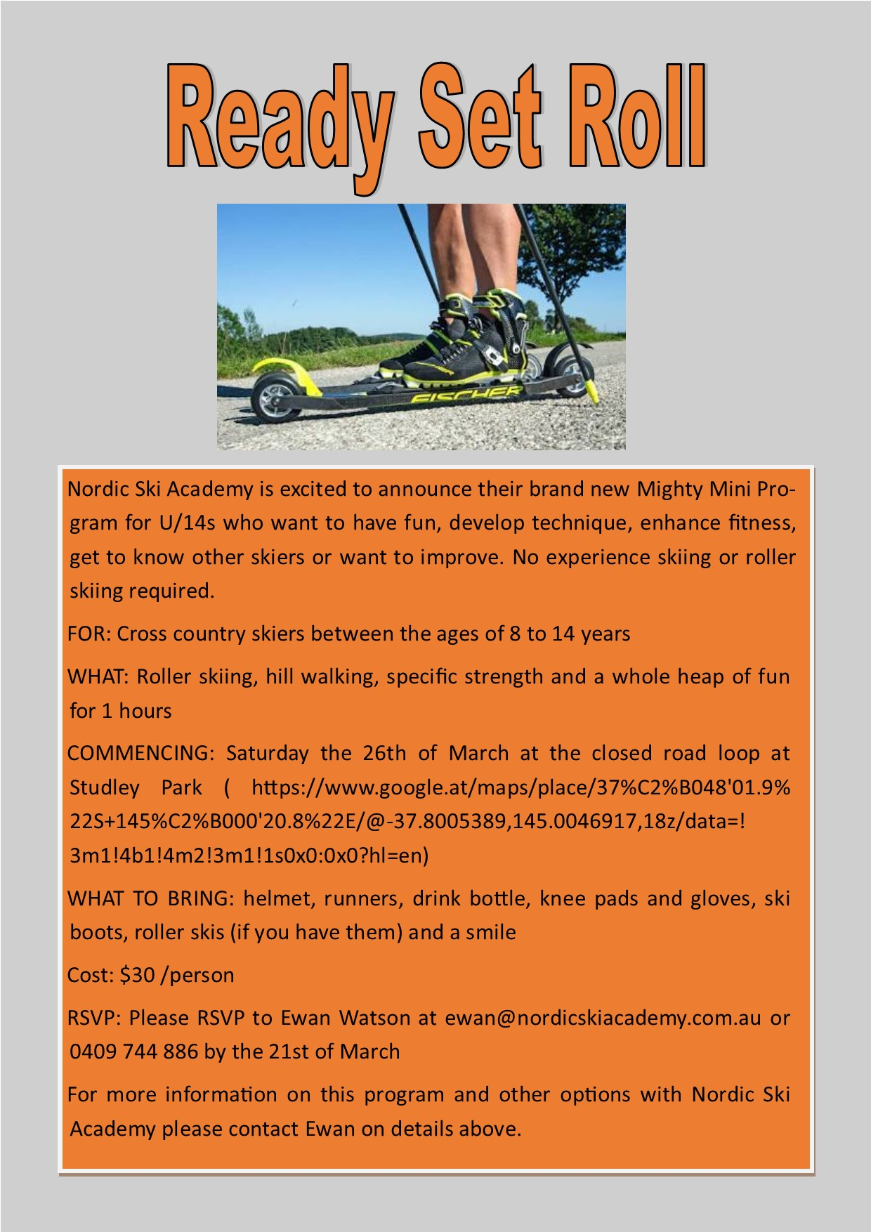 Mighty Minis - Rollerski